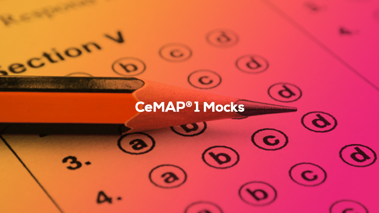 CeMAP 1 – Mock Exams
